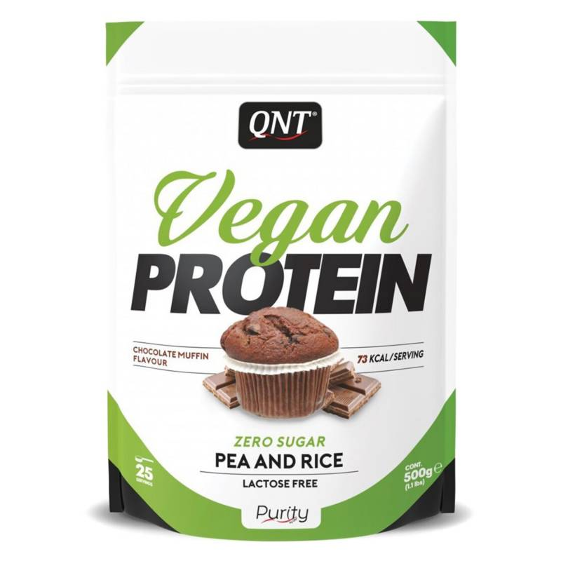 QNT - Proteína Vegana Chocolate Muffin 500 gr