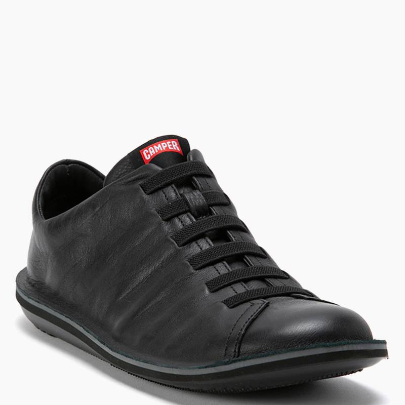 Camper - Zapato Casual Hombre Cuero Negro