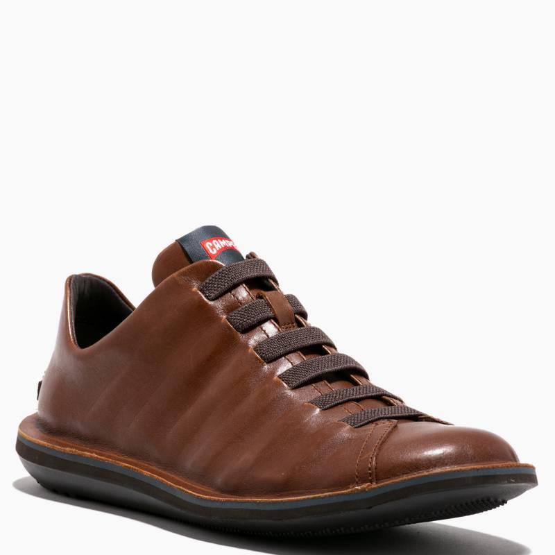 Camper - Zapato Casual Hombre Cuero Café