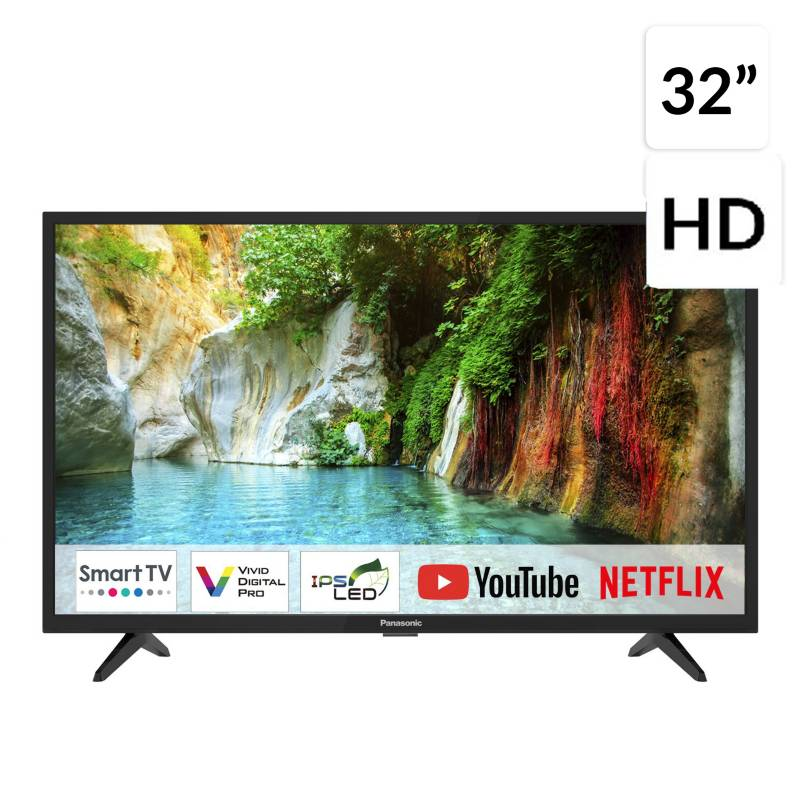 "Panasonic - LED 32"" TC-32FS500P HD Smart TV"