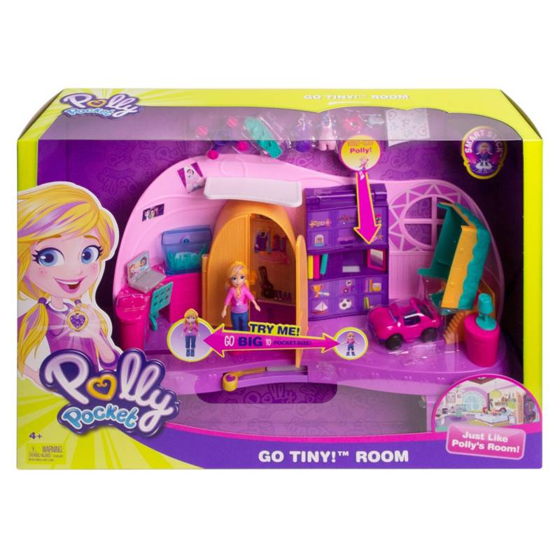 Polly Pocket - Cuarto Transformable