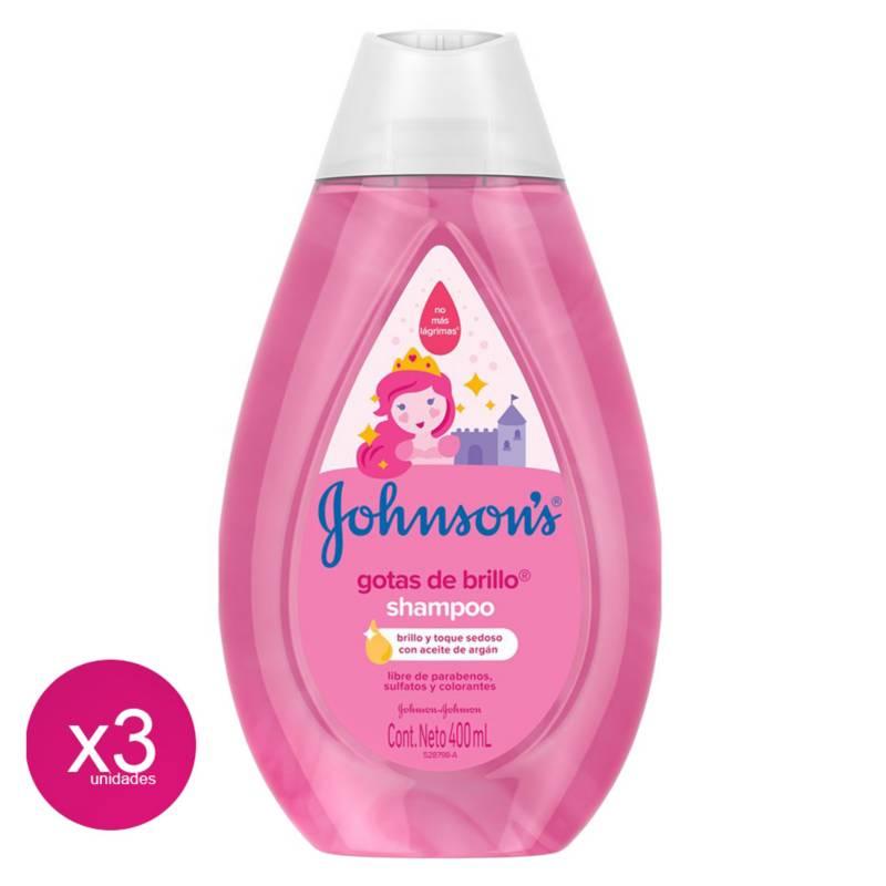 Johnsons Y Johnsons - Shampoo Gotas De Brillo Johnsons Baby 3Unid