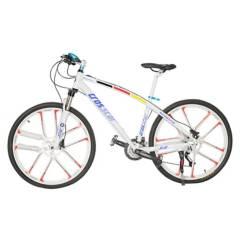 BICICLETAS CROSSTAR - Bicicleta Urbana Full Aluminio Llantas Magnesio Aro 27.5