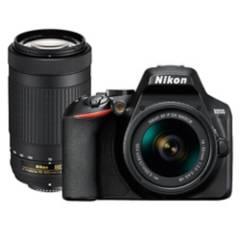 Nikon - Nikon D3500  Lente 18-55Mm  Lente 70-300Mm