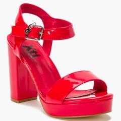 XTI - Sandalia Mujer Rojo
