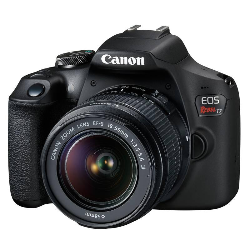 Canon - Cámara Reflex Eos T7 18-55 DC