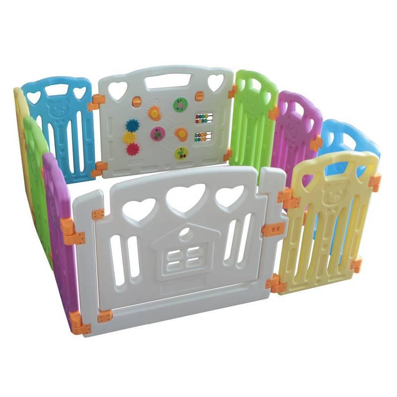 BEBECO - Corral para Bebé 8+2 Colores