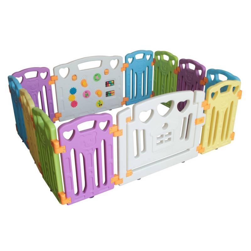 BEBECO - Corral para Bebé 10+2 Colores