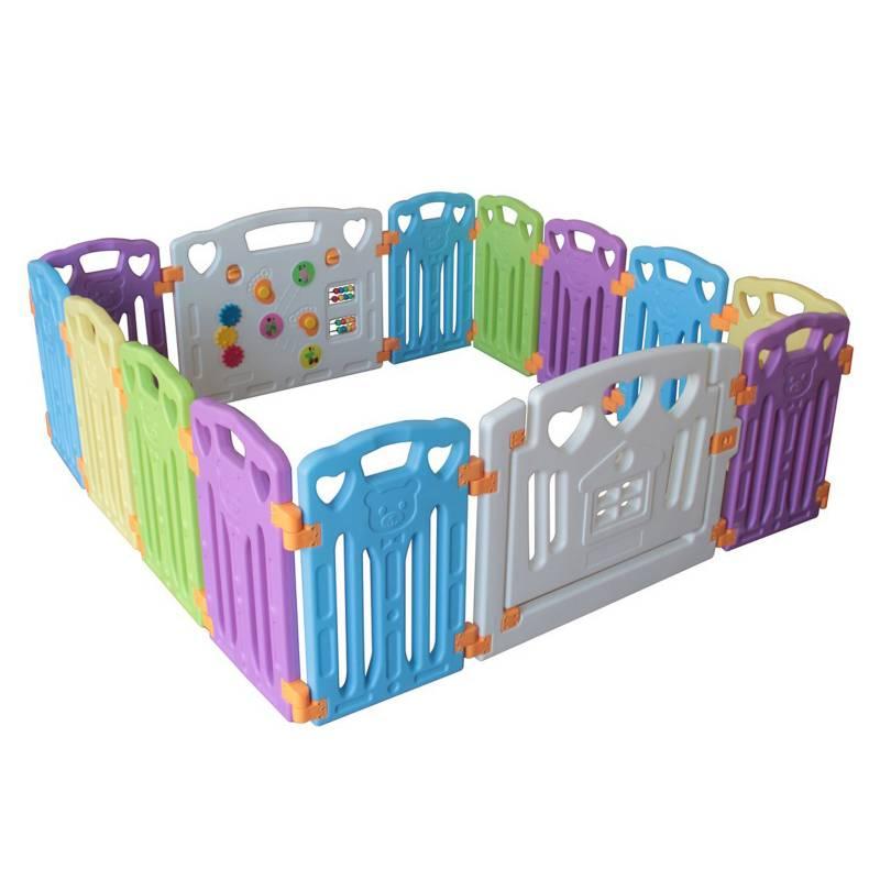BEBECO - Corral para Bebé 12+2 Colores