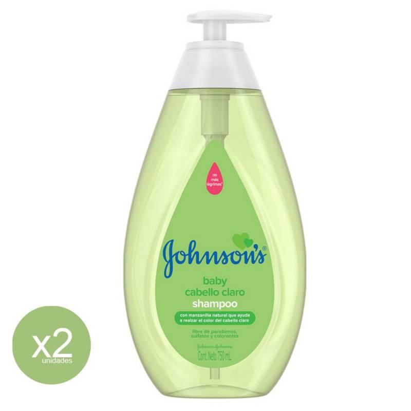 Johnsons Y Johnsons - Shampoo Manzanilla Johnsons Baby 750Ml X 2 Unid