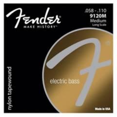 Fender - Fender Cuerdas Bajo 4 Revestida En Nylon Fender 9120M