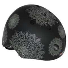 IBIKES - Casco Ibikes Mandalas  Negro