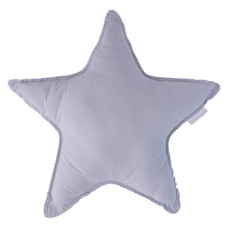 MINICOTTON - Cojín Estrella Gris
