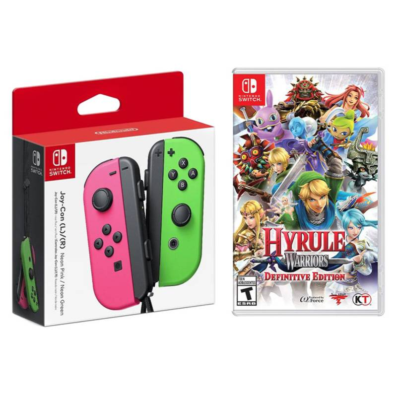 Nintendo - Pack Control Switch + Juego
