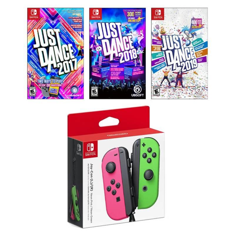 Nintendo - Pack Control Switch + Juegos