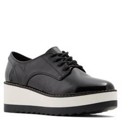 Zapato Mujer Cuero Negro