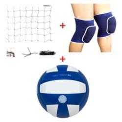 Kit Volleybalon Soft Touch + Rodilleras + Malla