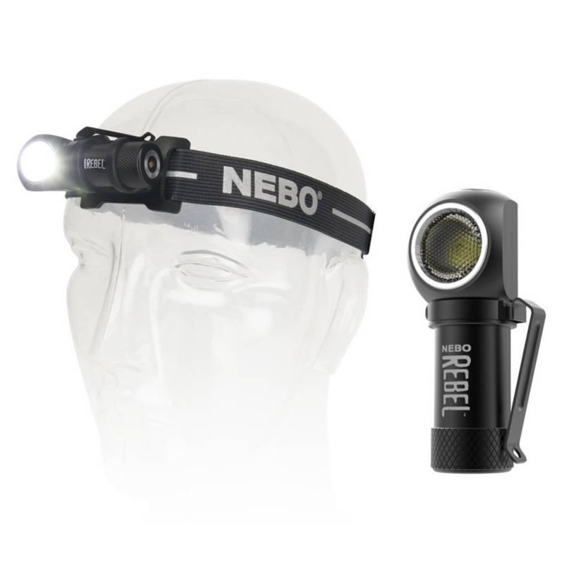 NEBO - Linterna Cabeza Frontal 600 Lúm Recargable