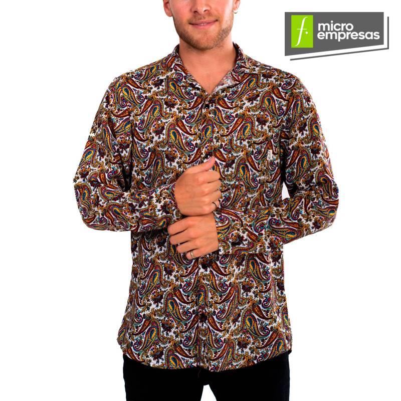 KIDEL - Camisa Casual Slim Fit