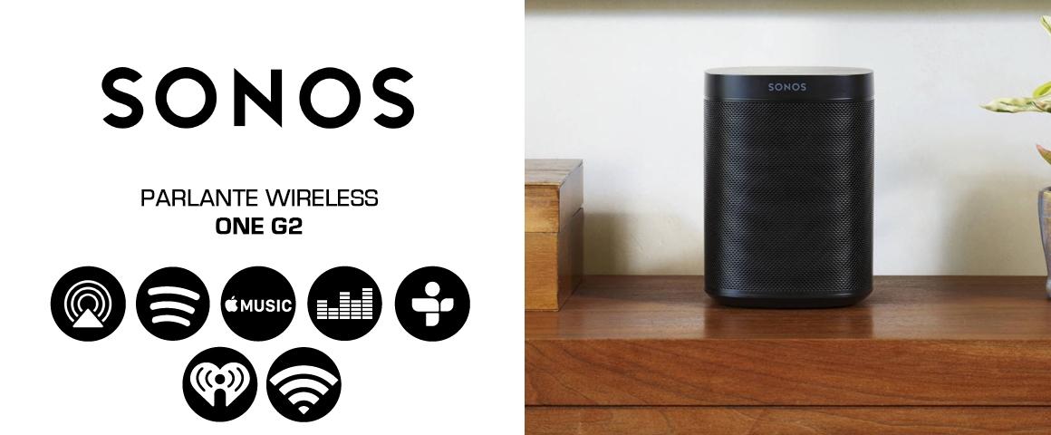 Parlante Wireless Sonos 2 Generación