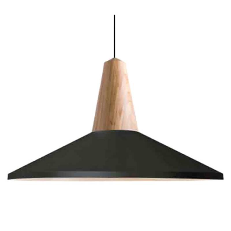 BRIC - Lámpara de Colgar Cecil Negra