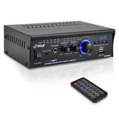 Pyle - Pyle Amplificador Mini Con Bluetooth