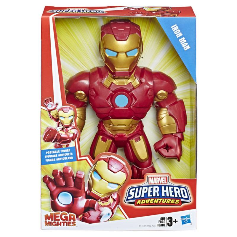 Playskool - Sha Mega Iron Man