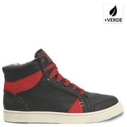Zapatilla Sodax Hombre Negro Rojo