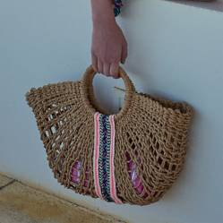 Bolso de playa-true
