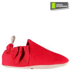 Zapatitos Mocasines Bebé y Niño - Rojo
