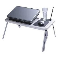 DEWINNER - mesa plegable para notebook con ventiladores