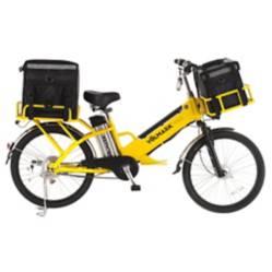 Bicicleta Eléctrica con Doble Batería E-Cargo