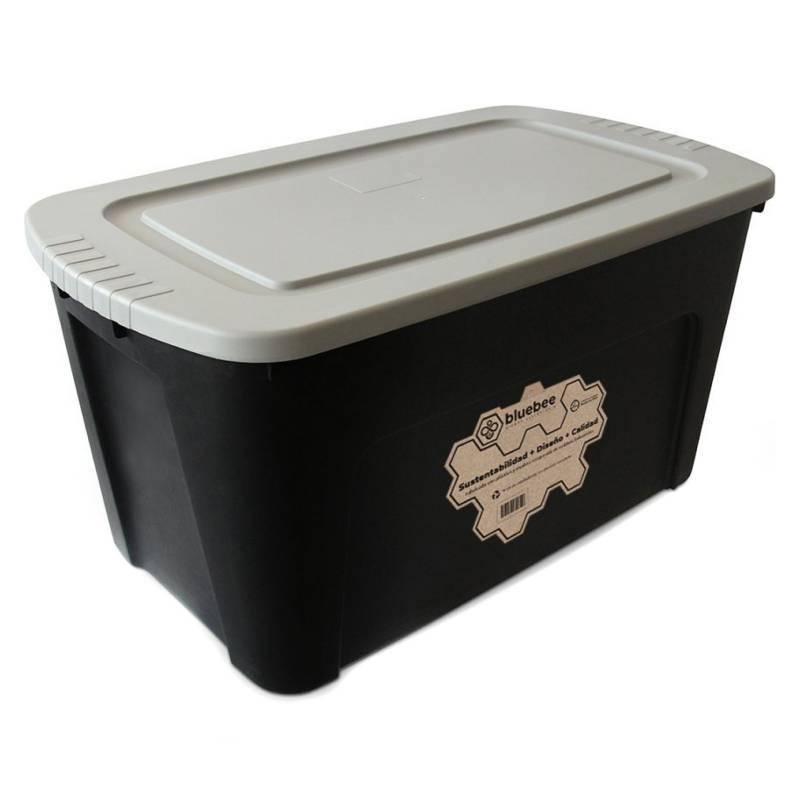 BLUEBEE - Caja Organizadora de Plástico Reciclado 125 Litros