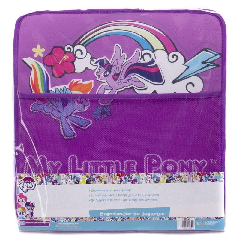 My Little Pony - Organizador Juguetes Baño Niña My Little Pony