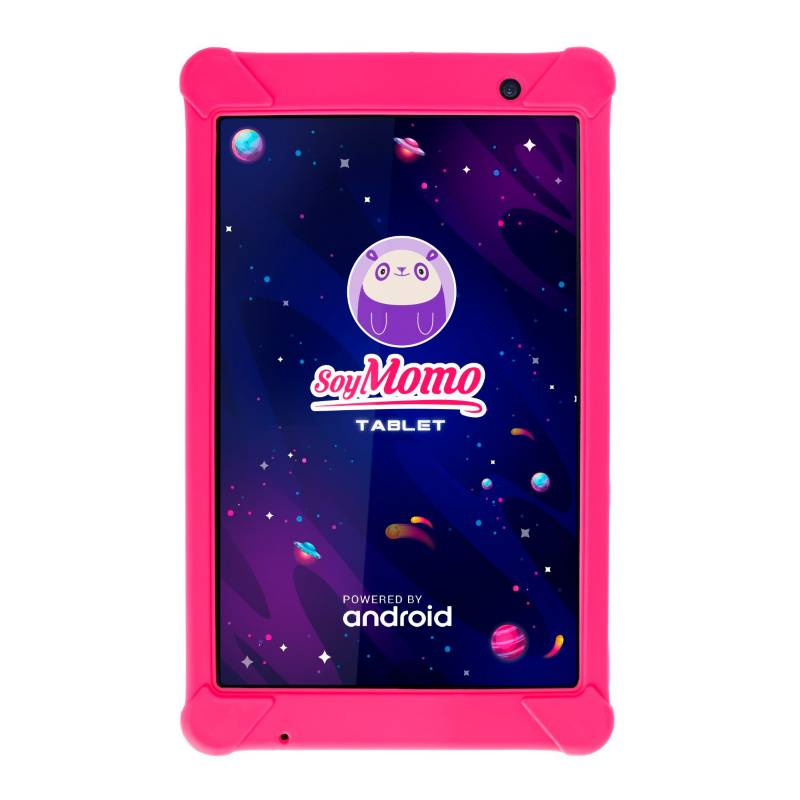 "Momo - Tablet Control Parental Rosado 8"",32 Gb, Wifi"