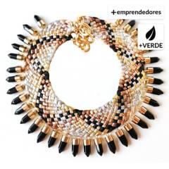 MARIA LA BIYUX - Collar Golden Piton