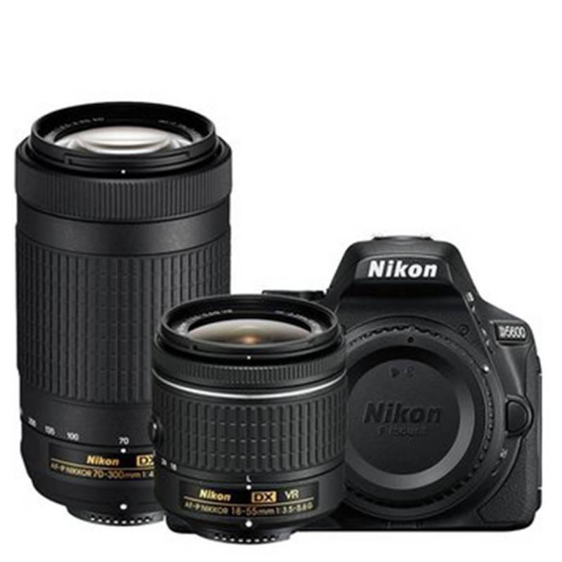 Nikon - Nikon Camara D5600 Kit 18-55Mm + 70-300Mm Af-P