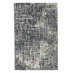 CRATE & BARREL - Alfombra Celosia Gris 150x244 cm