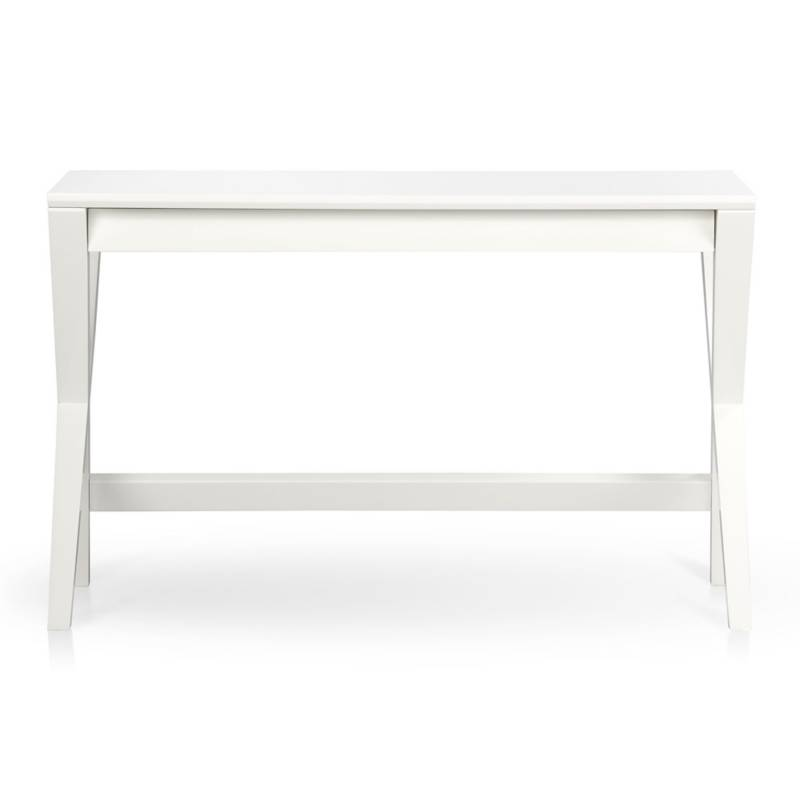 CRATE & BARREL - Escritorio Spotlight Blanco 48 Inch