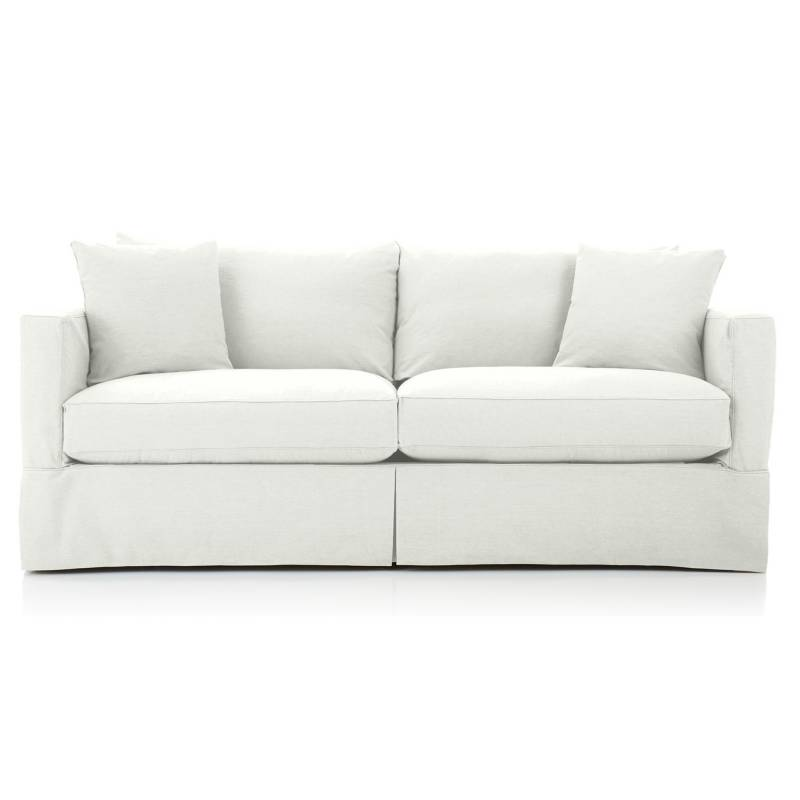 CRATE & BARREL - Sofa Willow Ii Snow