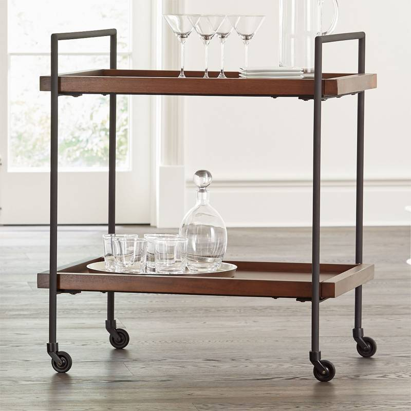 CRATE & BARREL - Carro Bar Beckett