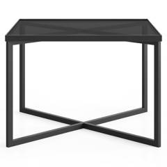 CRATE & BARREL - Mesa Lateral Gibson Humo