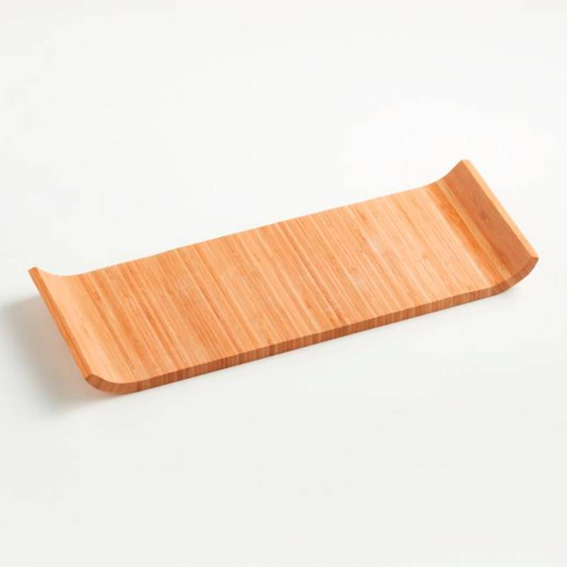 CRATE & BARREL - Tabla de Bamboo 16.75 inch
