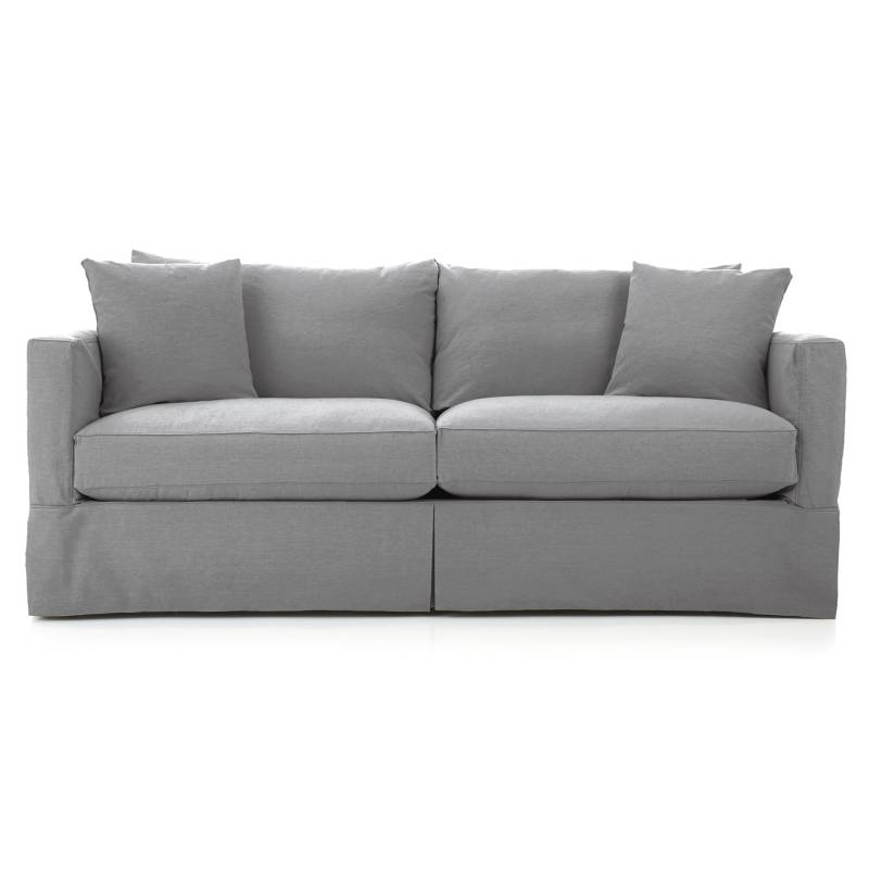 CRATE & BARREL - Sofa 3 Cuerpos Willow Ii Pe