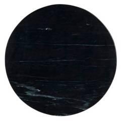 CRATE & BARREL - Parte 2 Mesa lateral Nero Oval negra