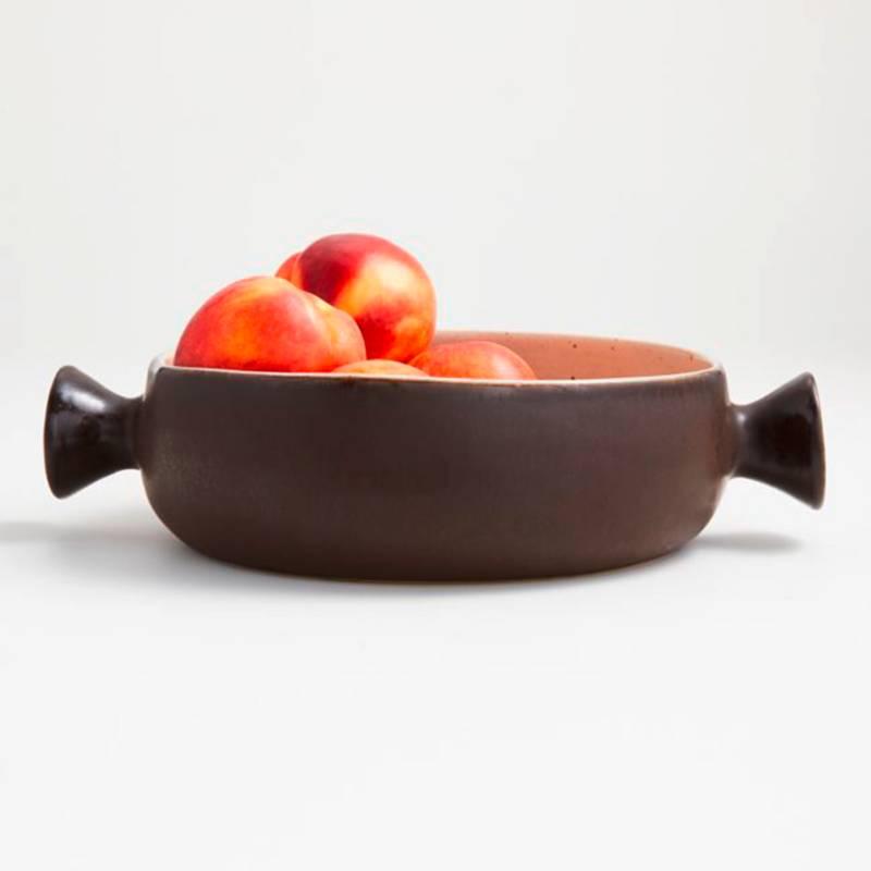 CRATE & BARREL - Bowl para Servir Wilder con Mango