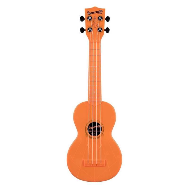 Kala - Ukelele Waterman Soprano Fluorescent Orange