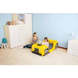 Cama Inflable Infantil Auto 4x4
