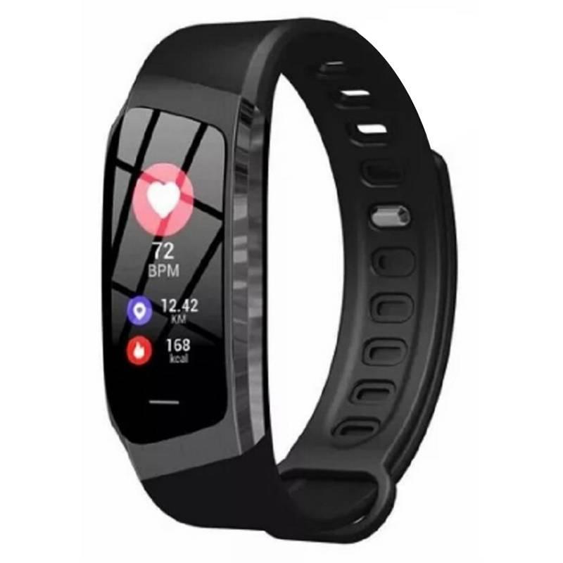 TODOBAGS - Reloj Smart Band Inteligente Bluetooth E18 Negro