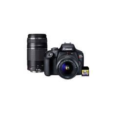 Canon - Cámaras Reflex Eos Rebel T100 Premium Kit